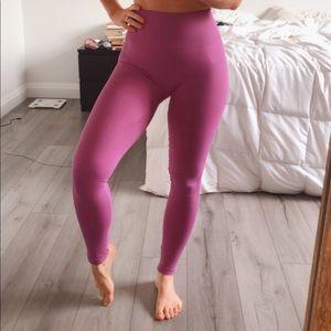 Compression High Rise Pink Lululemon Leggings